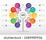 business presentation concept... | Shutterstock .eps vector #1089989936