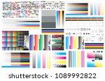 cmyk standard offset vector... | Shutterstock .eps vector #1089992822