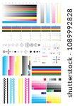 cmyk standard offset vector... | Shutterstock .eps vector #1089992828