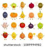 set of vector characters.... | Shutterstock .eps vector #1089994982