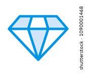 diamond jewel stone  | Shutterstock .eps vector #1090001468