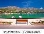 srebreno coastline and... | Shutterstock . vector #1090013006