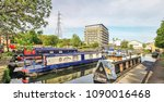 brighouse  uk  may 13  2018 ... | Shutterstock . vector #1090016468