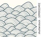 decorative seamless pattern.... | Shutterstock .eps vector #1090022492