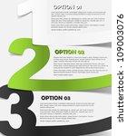 eps10  realistic design elements   Shutterstock .eps vector #109003076