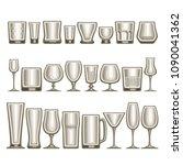 vector set of different... | Shutterstock .eps vector #1090041362