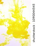 yellow paint  mixed green and... | Shutterstock . vector #1090044545