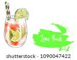 colorfu hand drawn illustration ... | Shutterstock . vector #1090047422