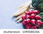 organic food background | Shutterstock . vector #1090080206