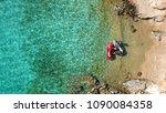 Aerial Photo Of Jet Ski Docked...