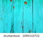 blue wood texture. old shabby... | Shutterstock . vector #1090110722