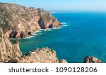 Rocky Atlantic Coastline At Th...