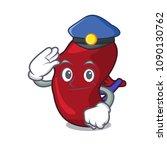 police spleen character cartoon ... | Shutterstock .eps vector #1090130762