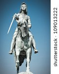 Monument Of Jeanne D'arc On...