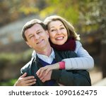 portrait of smiling elderly...   Shutterstock . vector #1090162475