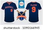 baseball jersey  sport uniform  ... | Shutterstock .eps vector #1090166945