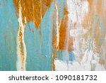painted abstract background | Shutterstock . vector #1090181732