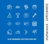 modern  simple vector icon set...   Shutterstock .eps vector #1090184852