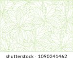 abstract white leaves... | Shutterstock .eps vector #1090241462