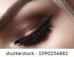 beautiful macro shot of female...   Shutterstock . vector #1090256882