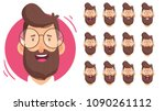 man character for your scenes... | Shutterstock .eps vector #1090261112