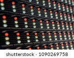 outdoor modular led panels on... | Shutterstock . vector #1090269758