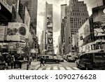 new york city  manhattan  oct... | Shutterstock . vector #1090276628
