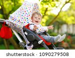 cute little beautiful baby girl ...   Shutterstock . vector #1090279508