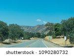 highway in rural california  usa | Shutterstock . vector #1090280732