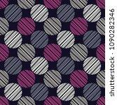 polka dot seamless pattern.... | Shutterstock .eps vector #1090282346