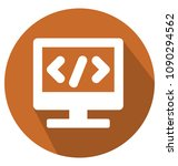 html codetwo colors glyph... | Shutterstock .eps vector #1090294562