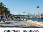lagos  portugal   circa may... | Shutterstock . vector #1090387022