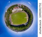 panorama 360 degree at air.... | Shutterstock . vector #1090392752