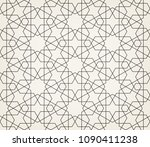 abstract geometric pattern with ... | Shutterstock .eps vector #1090411238