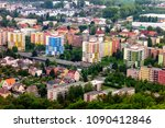 cityscape of the krnov town... | Shutterstock . vector #1090412846