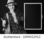 searching for inspiring places. ... | Shutterstock . vector #1090412912