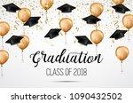 graduation class of 2018.... | Shutterstock .eps vector #1090432502