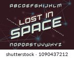 "futuristic typeface named ""lost ... 