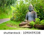 Buddha Statue At The Alii Kula...