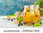 Orange Blueberry Detox Water O...