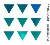 vector gradient reverse... | Shutterstock .eps vector #1090478672