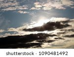 sky and cloud. cloudscape. | Shutterstock . vector #1090481492