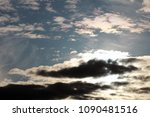 sky and cloud. cloudscape. | Shutterstock . vector #1090481516