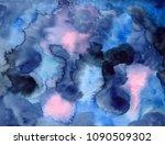 creative watercolor background... | Shutterstock . vector #1090509302
