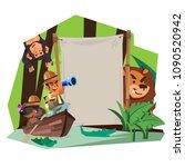adventure sign concept.... | Shutterstock .eps vector #1090520942