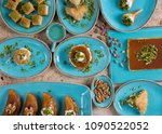 food photography for turkish... | Shutterstock . vector #1090522052