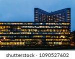 amsterdam  netherlands  ... | Shutterstock . vector #1090527602