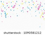 celebration event and party... | Shutterstock .eps vector #1090581212
