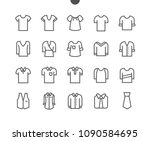 clothes ui pixel perfect well... | Shutterstock .eps vector #1090584695
