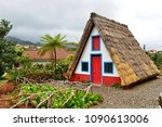 traditional house in santana ... | Shutterstock . vector #1090613006
